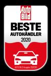 Wir wurden ausgezeichnet als einer der besten Autohändler in Deutschland von der AUTO BILD Ausgabe 20/2020